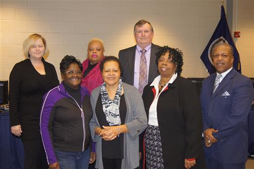 Sussex School Board with Superintendent